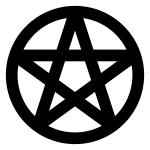 Spiritueller Weg: Pentagramm im Kreis